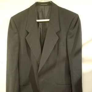 Yves Saint Laurent YSL Slim Blazer Wool 35R France